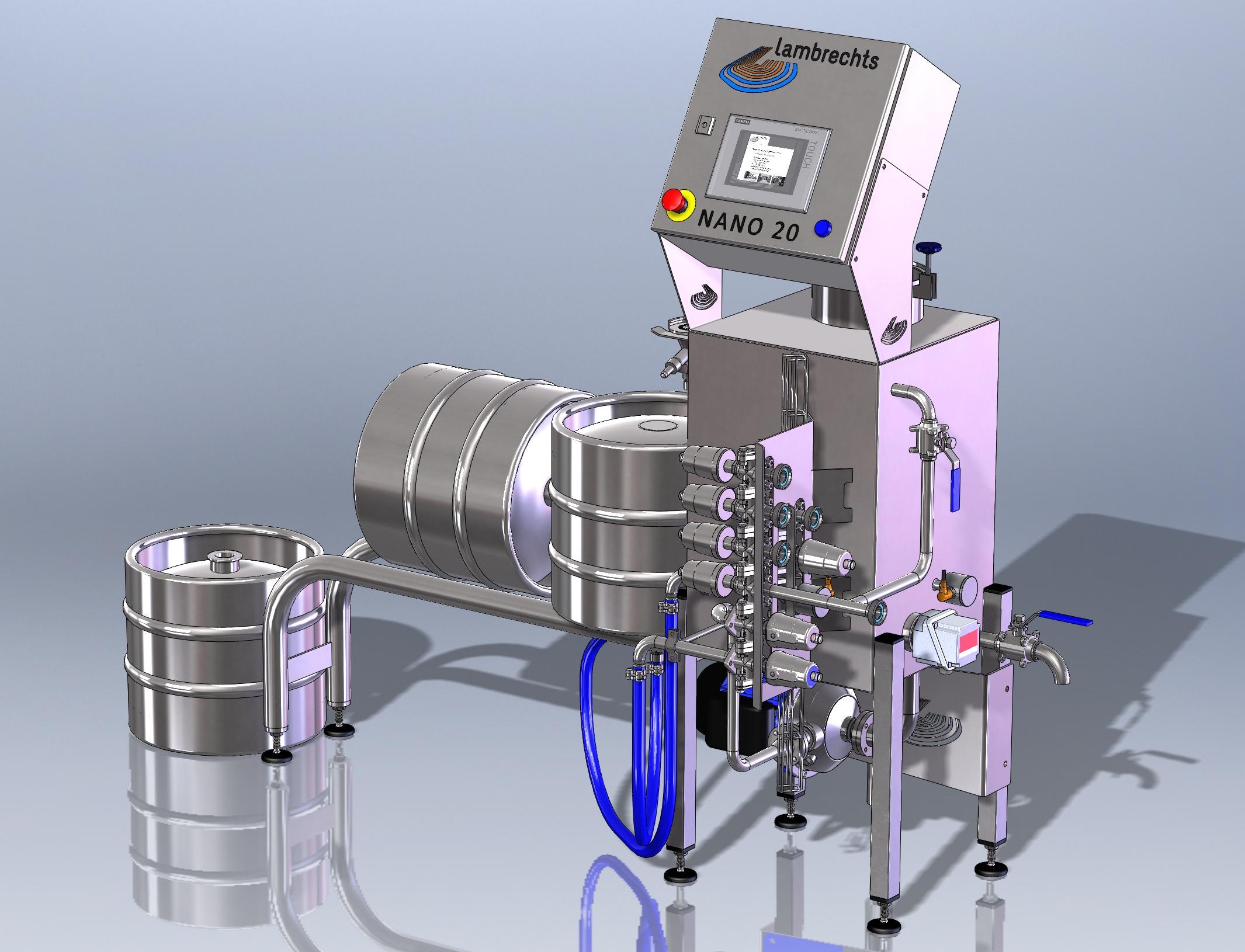 Nano 20 Semi Automatic Washer Lambrechts Group