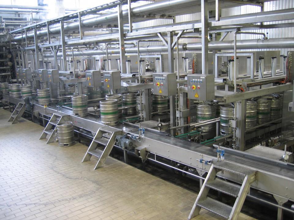 Alken Maes Chunnel 421 600 kegs/hr